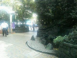 御茶ノ水駅前ビルのたばこ部屋