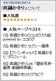 @search:眞鍋かをり での検索結果