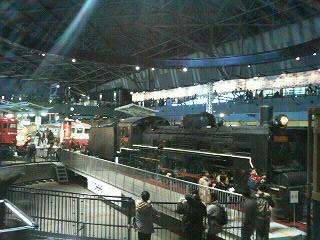 メイン展示物?『ヒストリーゾーン』の蒸気機関車