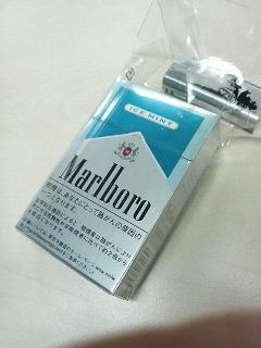 Marlboro ICE MINTの過剰包装