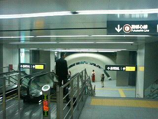 東京メトロ・副都心線@渋谷