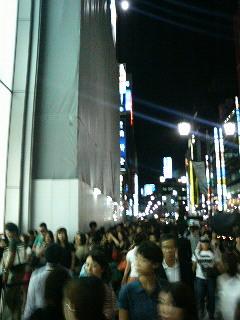 H&Mの行列