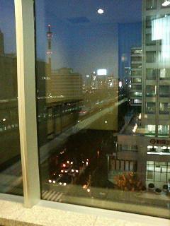東京駅・日本橋口、サピアタワー5F『東京ステーションコンファレンス』のたばこ部屋。